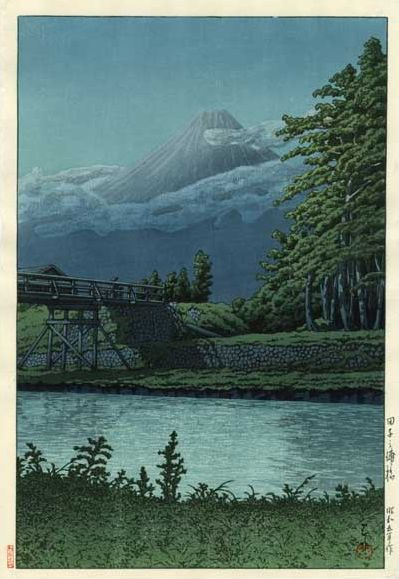 Hasui Kawase 1930 -Tagonourabashi