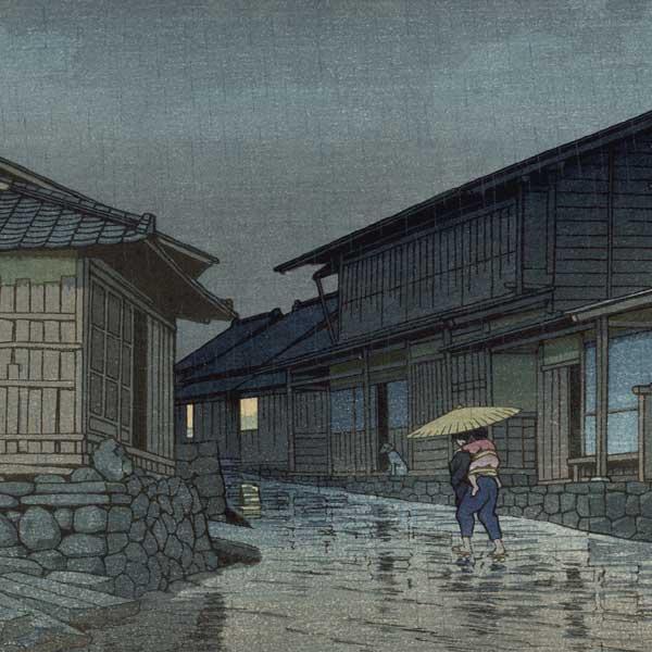 Estampes d'Hasui Kawase de 1942 - Estampes japonaises Shin hanga