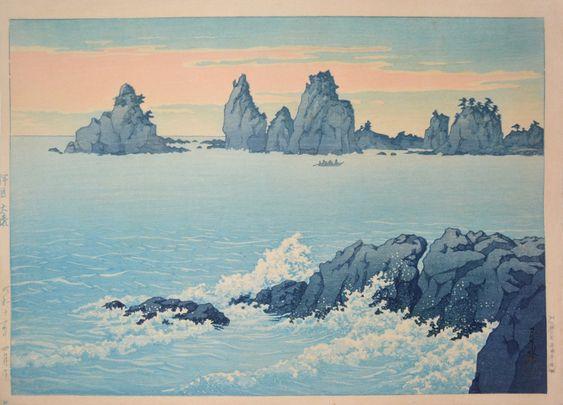 Hasui Kawase 1937 - Ose à Izu