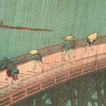 Une estampe japonaise d'Hiroshige (EJ-02)