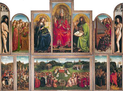 L'attribut alt de cette image est vide, son nom de fichier est Van-Eyck-Retable_de_lAgneau_mystique-400.jpg.