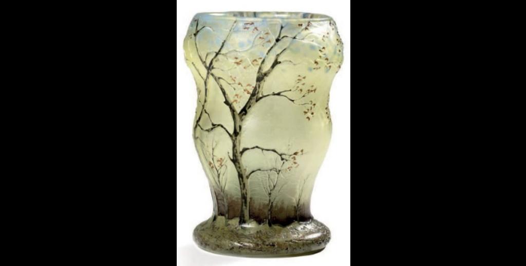 Vase Legras - 13 cm - adjugé 450 € - vendu en 2015