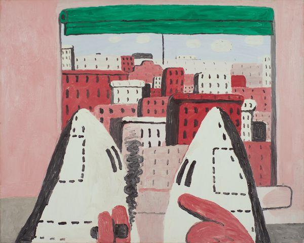 Philip Guston - Open Window II - 1969 - exposition reportée de 3 ans